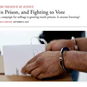 The Atlantic: Voting Rights Coverage