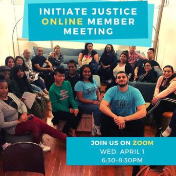 April 2020 – Member Meeting