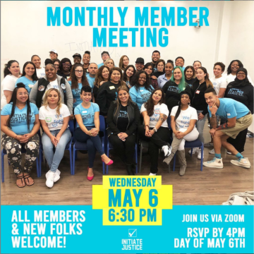 May 2020 Member Meeting