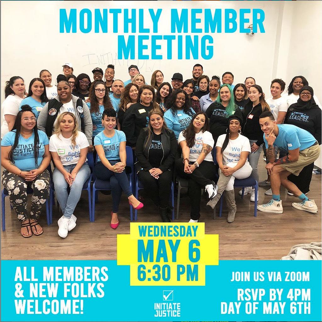 May 2020 Member Meeting