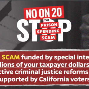 [Op Ed] Vote NO on Prop 20 this Fall