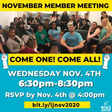 November 2020 Member Meeting