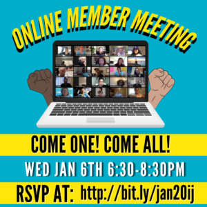 January 2021 Member Meeting