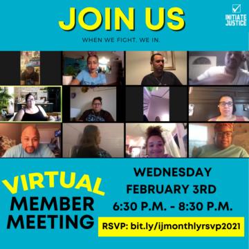 February 2021 Member Meeting