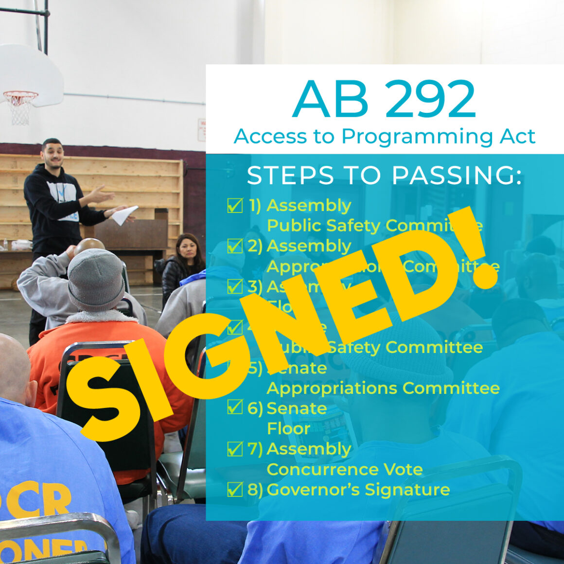 Access to Programming Act (AB 292)