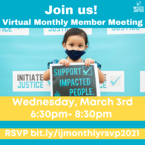 March 2021 Member Meeting