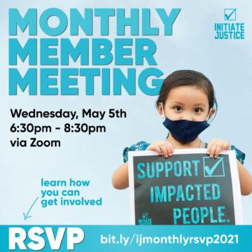 May 2021 Member Meeting