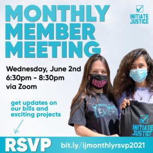 June 2021 Member Meeting