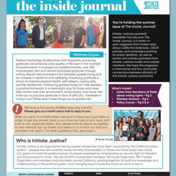 The Inside Journal – Summer 2021